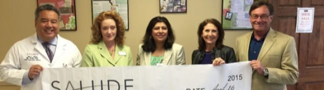 Salude Presents Community Service Grant