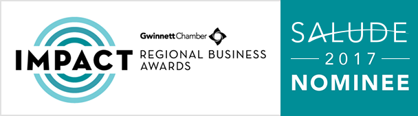 Salude is a nominee in Gwinnett Chamber's IMPACT Regional Business Awards